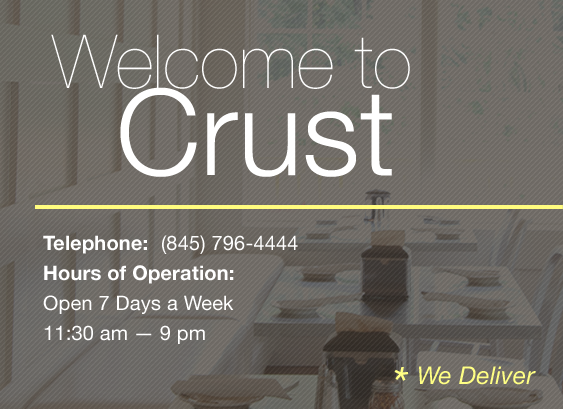 Welcome to Crust